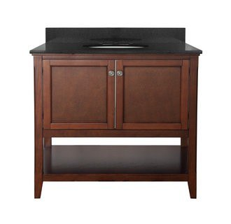 Foremost AUCNV3622 Auguste Chestnut Collection 36 Inch Vanity (no Top)