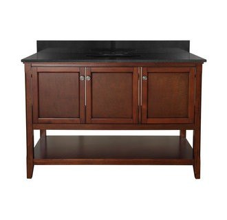 Foremost AUCNV4822 Auguste Chestnut Collection 48 Inch Vanity (no Top)