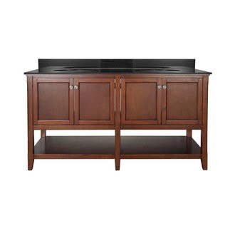 Foremost AUCNV6022 Auguste Chestnut Collection 60 Inch Vanity (no Top)