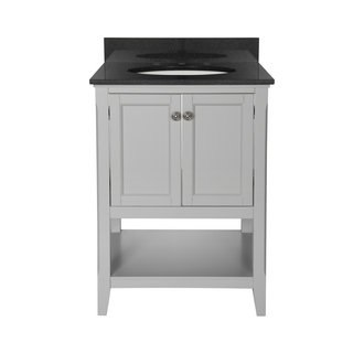 Foremost AUGV2422 Auguste Grey Collection 24 Inch Vanity (no Top)