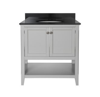 Foremost AUGV3022 Auguste Grey Collection 30 Inch Vanity (no Top)