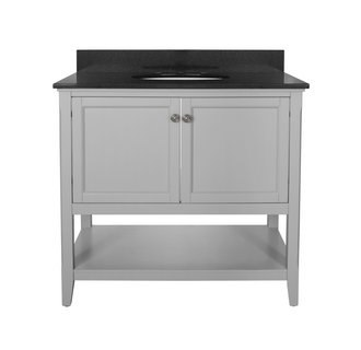 Foremost AUGV3622 Auguste Grey Collection 36 Inch Vanity (no Top)