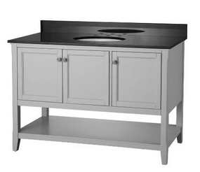 Foremost AUGV4822 Auguste Grey Collection 48 Inch Assembled Vanity