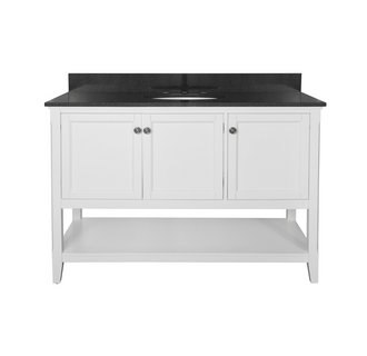 Foremost AUWV4822 Auguste White Collection 48 Inch Vanity (no Top)
