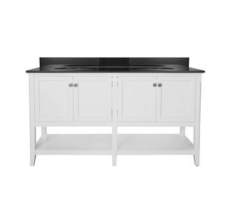 Foremost AUWV6022 Auguste White Collection 60 Inch Vanity (no Top)