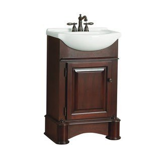 Foremost AVTAT2116 Avonwood Collection 23 Inch Vanity Combo Vitreous China Top