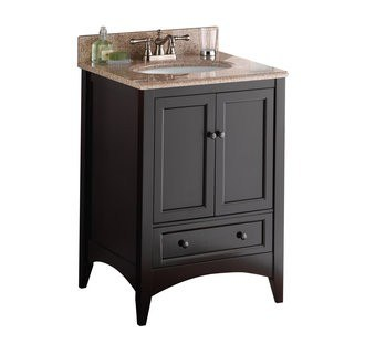 Foremost BECA2421D Berkshire Collection 24 Inch Vanity