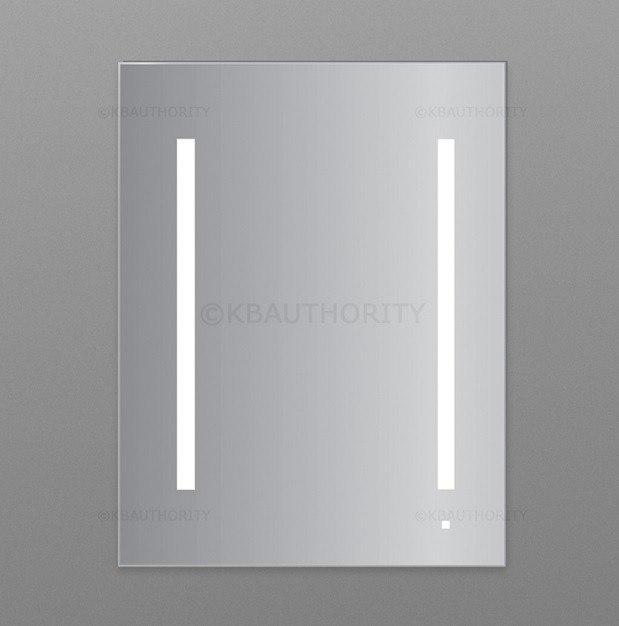 Robern AC2430D4P1 Aio Series 23-1/4 Inch Flat Plain Mirror Cabinet