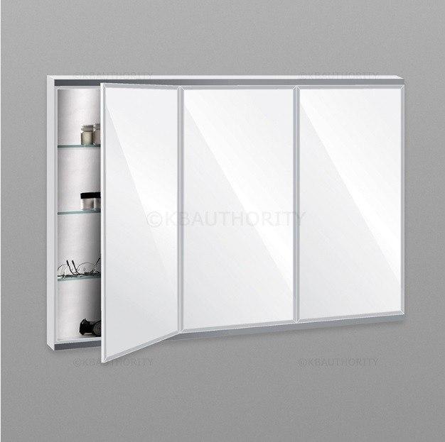 robern tfc3638 c series 36 inch threedoor flat beveled mirrored cabinet w electrical