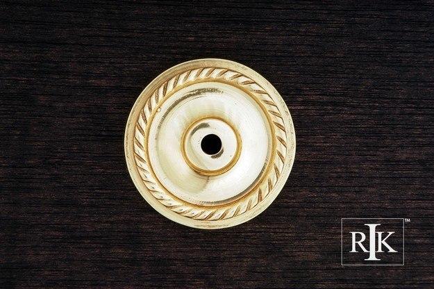 RK International BP 7820 Rope Single Hole Backplate