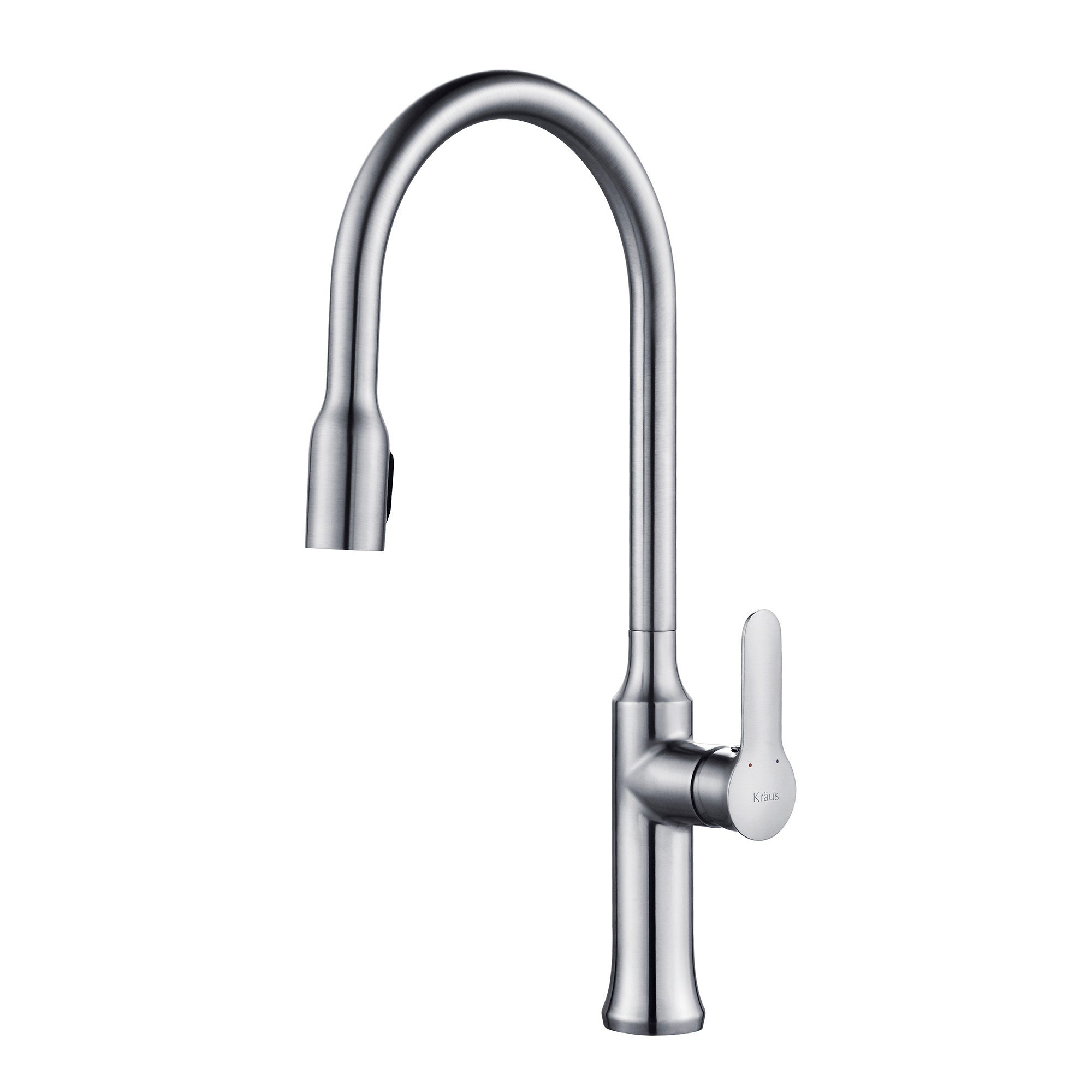 Kraus KPF-1660CH Nola Single Lever Concealed Pull Down Kitchen Faucet in Chrome