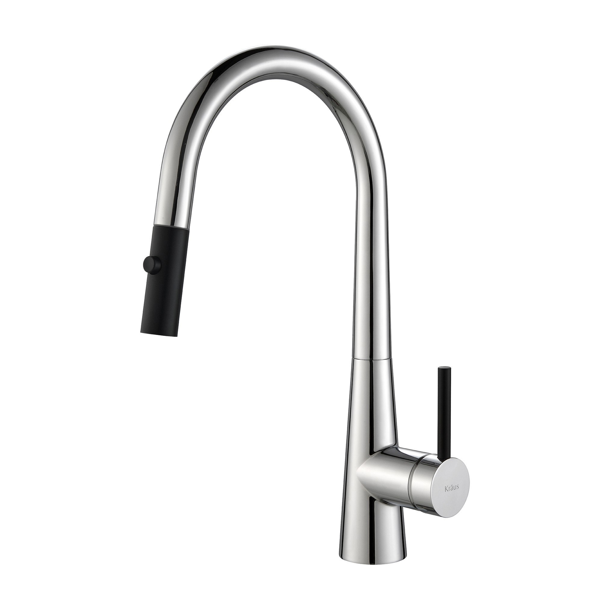 finish commercial britt brite in handle faucet steel kitchen nlgpwhitwwcdldsvhzdk function free with products all stainless sprayhead dual spot kraus single