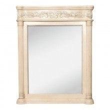 Hardware Resources MIR011 Antique Ornate Jeffrey Alexander Mirror 33-11/16 x 3-1/2 x 42 Inch