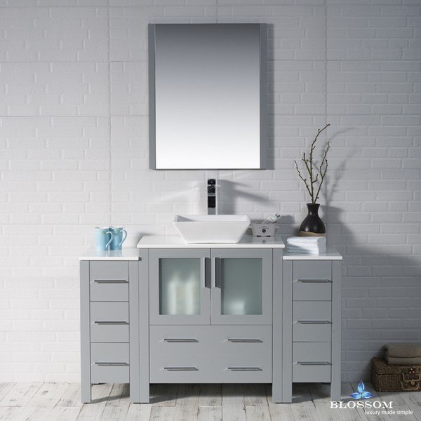 Blossom 001 54 15 1616v Dsc Sydney 54 Inch Vanity Set With Vessel Sink And Double