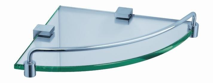 Fresca FAC0448 Ottimo Corner Glass Shelf - Chrome