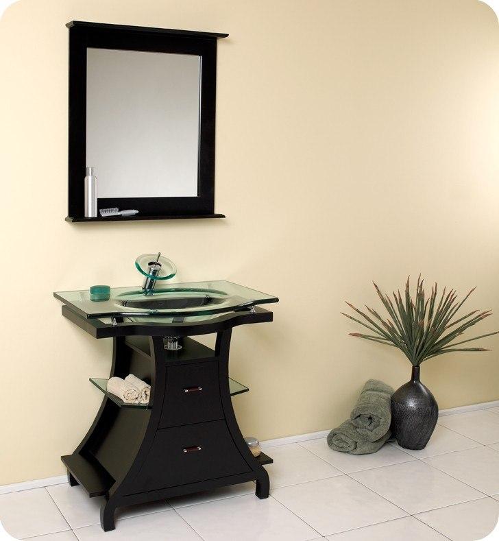Fresca Fst1040es Espresso Bathroom Linen Side Cabinet W 4