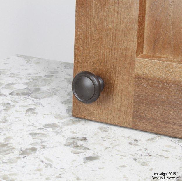 Century Hardware 11428 Plymouth Collection Solid Brass Knob 1-1/2 Inches Diameter