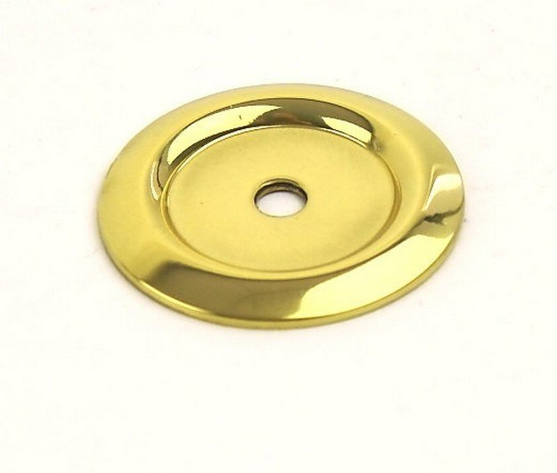 Century Hardware 12069 Saturn Collection Solid Brass Back Plate 1-1/4 Inches Diameter