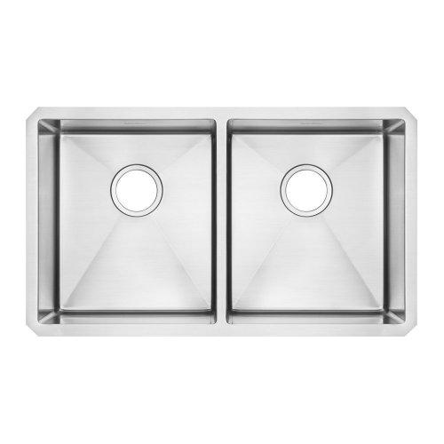 American Standard 12DB.291800 Prevoir Stainless Steel Undermount 29 x 18 Inch 2-Bowl Kitchen Sink
