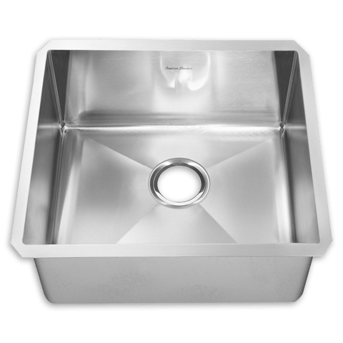 American Standard 12SB.231800 Prevoir Stainless Steel Undermount 23 x 18 Inch 1-Bowl Kitchen Sink