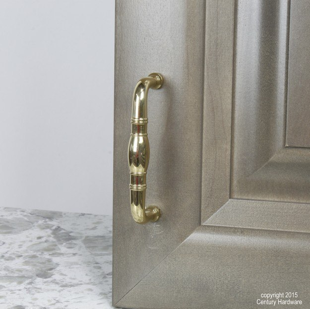 Century Hardware 13843 Hartford Collection Solid Brass Pull 3 Inches Center to Center