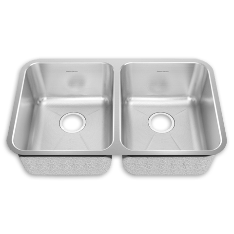 American Standard 14DB.311800 Prevoir Stainless Steel Undermount 30-7/8 x 17-3/4 Inch 2-Bowl Kitchen Sink