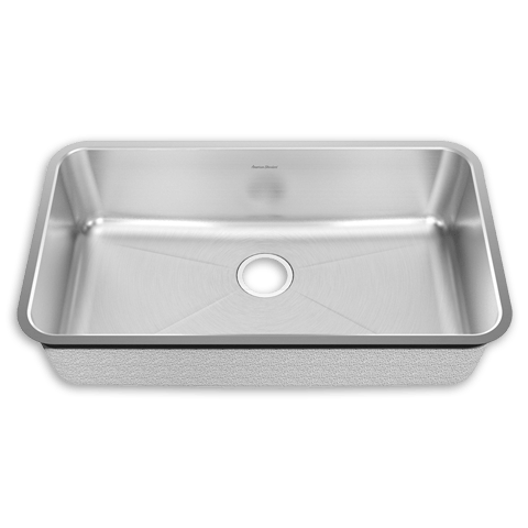 American Standard 14SB.331900 Prevoir Stainless Steel Undermount 32-3/4 Inch x 18-3/4 Inch 1-Bowl Kitchen Sink