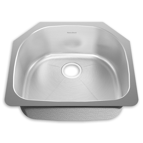 American Standard 18SB.262100 Prevoir Stainless Steel Undermount 23-3/8 Inch x 20-7/8 Inch 1-Bowl Kitchen Sink