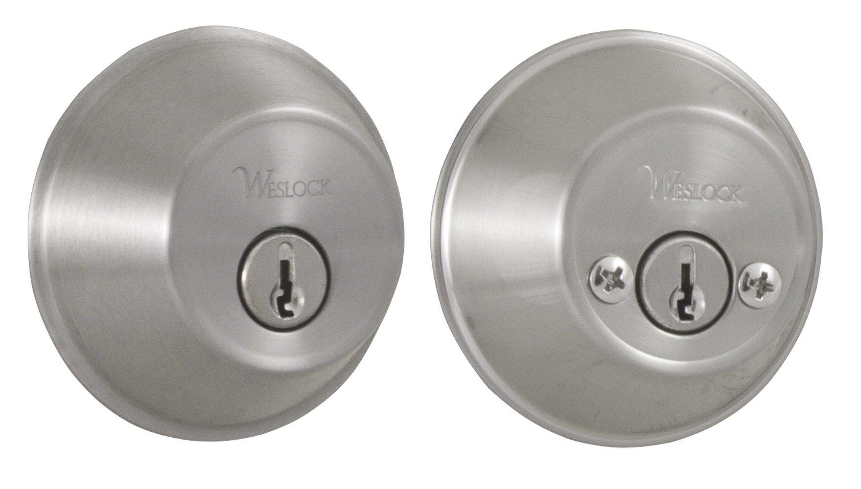 Weslock 00372 Essentials Round Double Cylinder Deadbolt