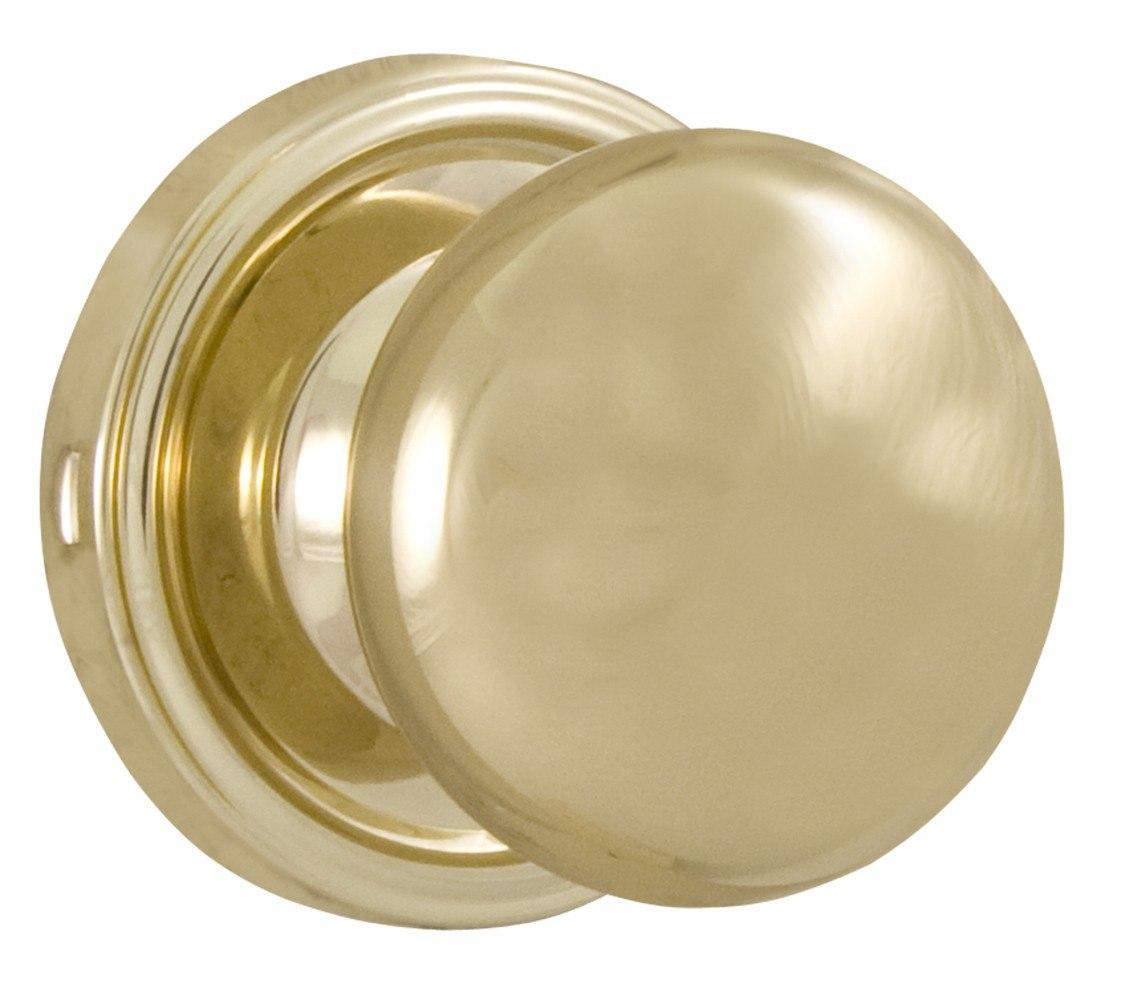 Weslock 00605I3--0020 Impresa Knob Polished Brass