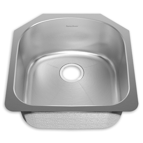 American Standard 18SB.212000.073 Prevoir Stainless Steel Undermount 19-7/8 x 20-5/8 Inch 1-Bowl Kitchen Sink