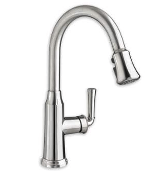 American Standard 4285.300.F15 Portsmouth 1-Handle Pull Down High-Arc Kitchen Faucet 1.5 GPM/5.7 L/min. Maximum Flow Rate