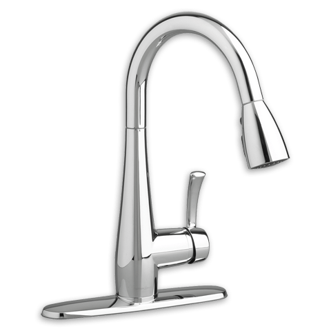 American Standard 4433.300.F15 Quince 1-Handle Pull Down High-Arc Kitchen Faucet 1.5 GPM/5.7 L/min. Maximum Flow Rate