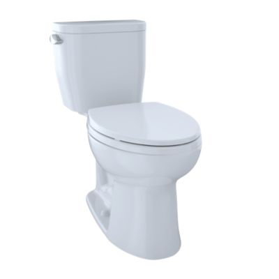 TOTO CST244EF ENTRADA 1.28 GPF TWO-PIECE ELONGATED TOILET - WITHOUT SEAT
