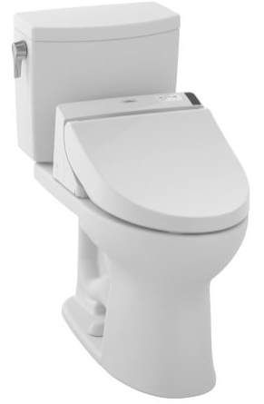 Toto MW4542044CEFG#01 Drake II Connect+ C200 Two-Piece Toilet, 1.28 GPF