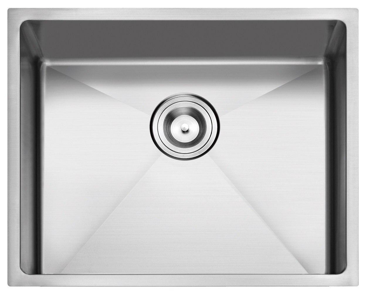 Stufurhome Nw 2318s 18 Nationalware 18 Gauge Stainless Steel 23 Inch Single Basin Undermount Kitchen Sink