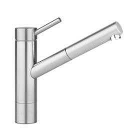 KWC 10.271.303.700 Suprimo Single-Lever Mixer in Solid Stainless Steel