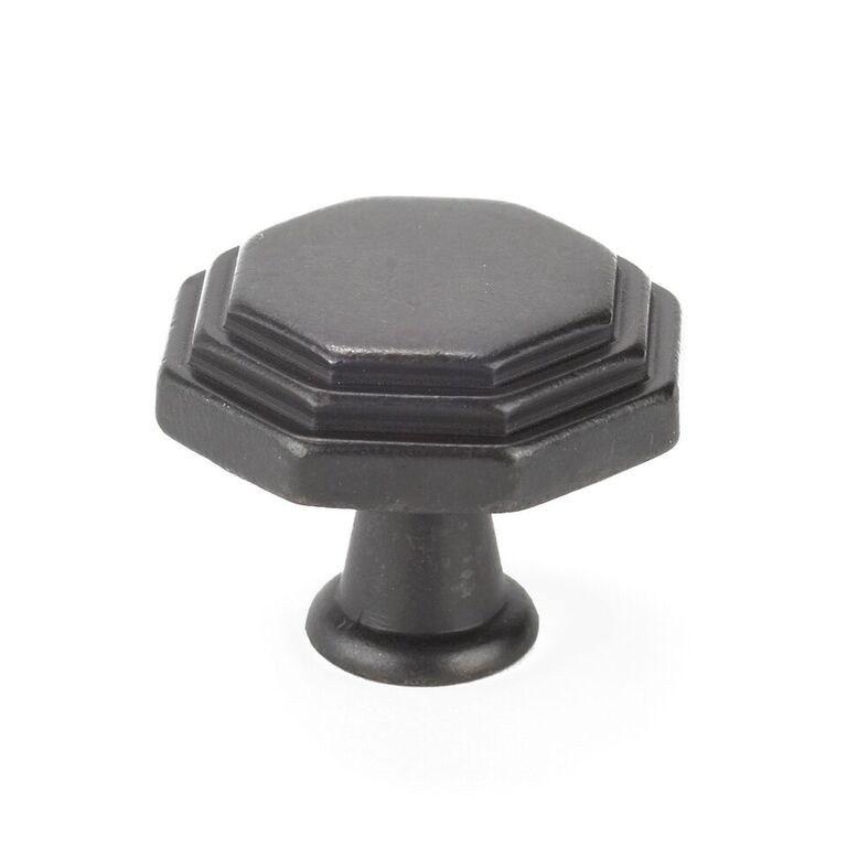 Topex 10819B27 Octagon Cabinet Knob Dark Bronze