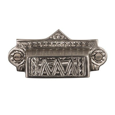 Brass Élégans BE39 Eastlake Collection Solid Brass Decorative Drawer Pull