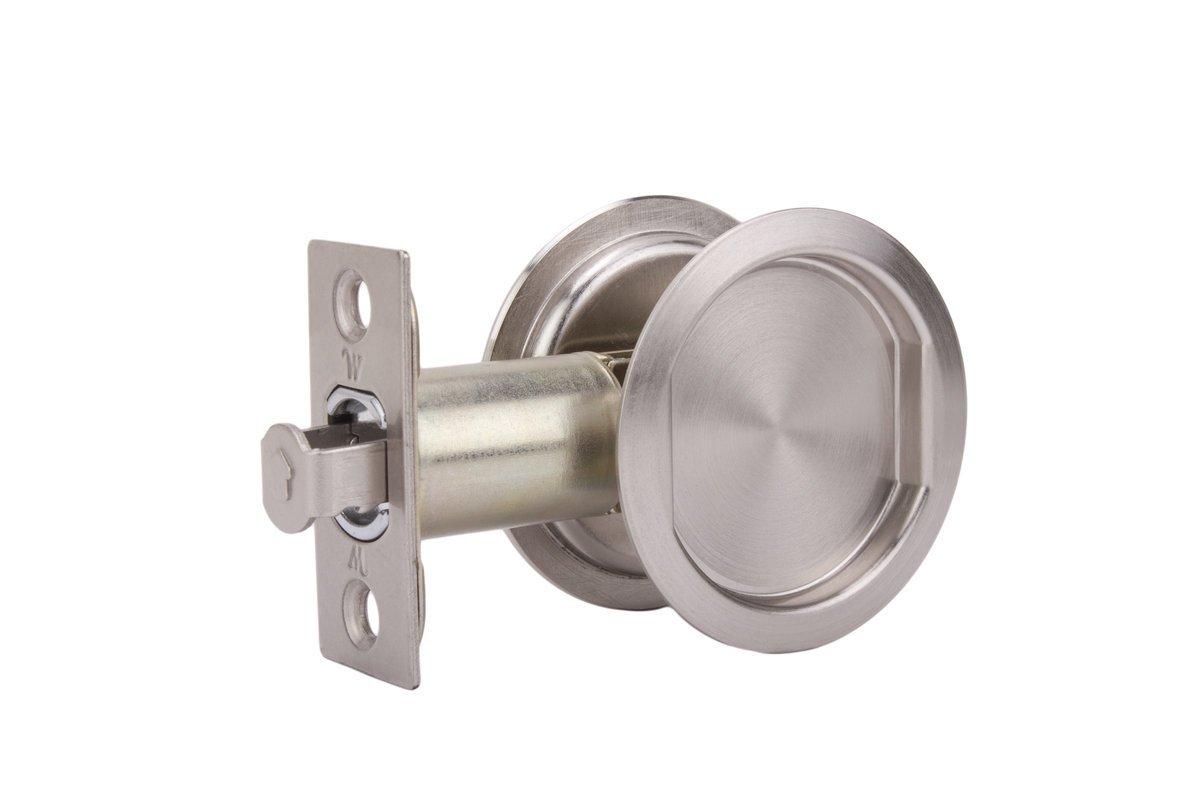 WESLOCK 00627X ROUND PASSAGE POCKET DOOR PULL