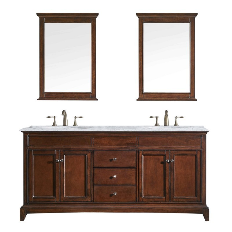 Eviva Evvn709 60tk Elite Stamford 60, All Wood Bathroom Vanities