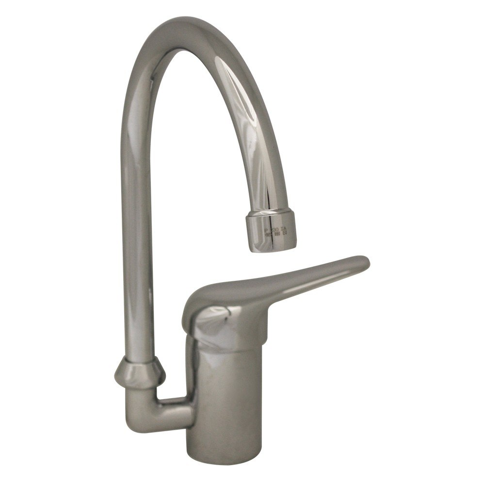 Whitehaus 3-2851 Flamingo Iii 7-1/2 Inch Single Hole/Single Lever Handle Entertainment/Prep Faucet