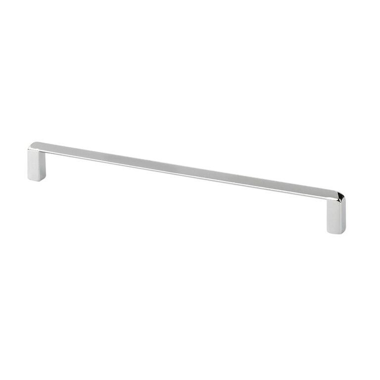 Topex 8-1020019240 Thin Modern Cabinet Pull Bright Chrome Center to Center 7.56 Inches