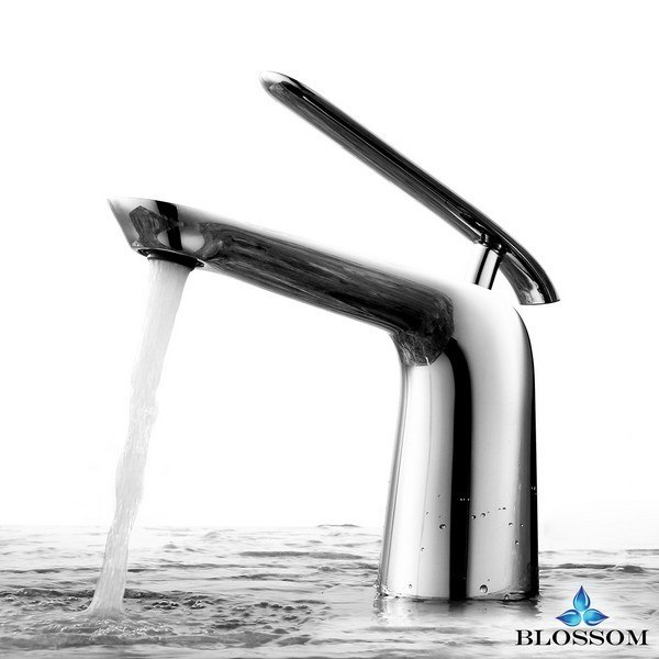 BLOSSOM F01 106 01 SINGLE HANDLE LAVATORY FAUCET IN CHROME