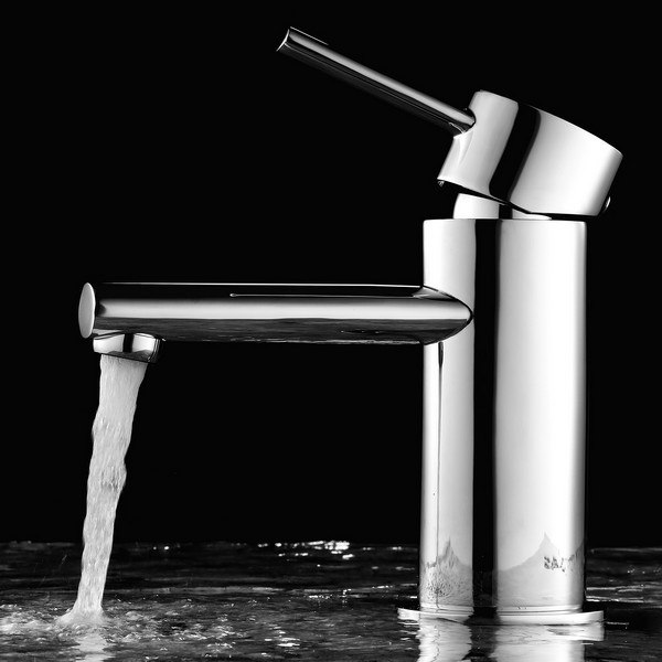 BLOSSOM F01 113 01 SINGLE HANDLE LAVATORY FAUCET IN CHROME