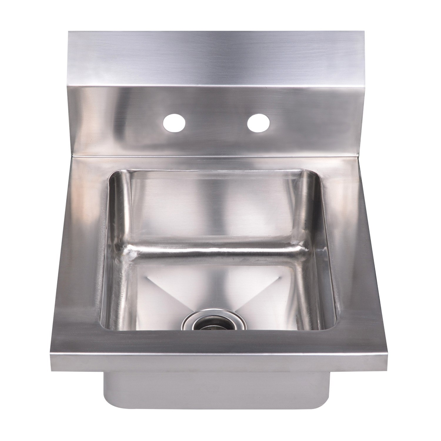 WHITEHAUS WHHS14 NOAH'S COLLECTION 14 INCH SMALL SINGLE BOWL DROP-IN HAND SINK