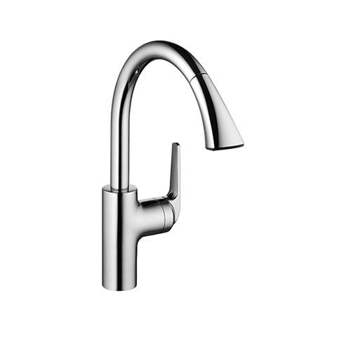 KWC 10.061.004 Domo Pull Down Kitchen Single-Lever Faucet