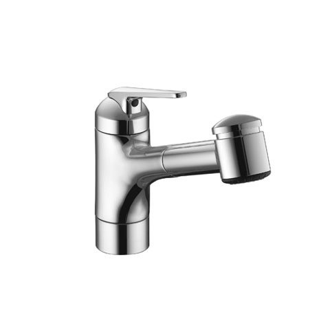 KWC 10.061.032 Domo Pull Out Kitchen 7 Inch Single-Lever Faucet