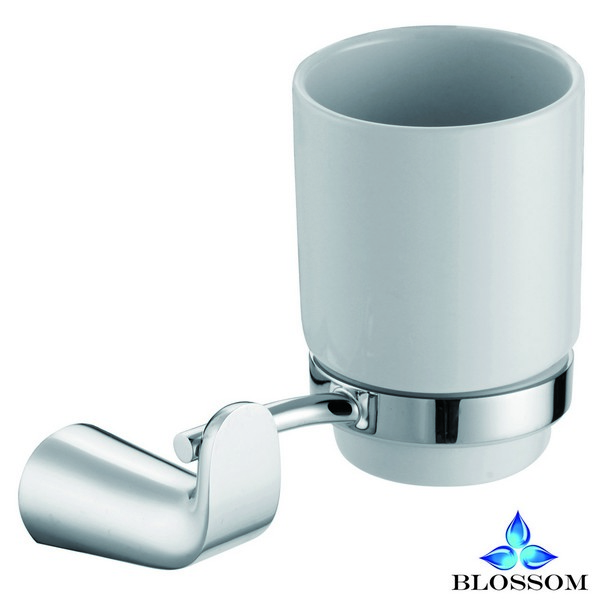 BLOSSOM BA02 103 01 WALL MOUNTED TOOTHBRUSH HOLDER IN CHROME