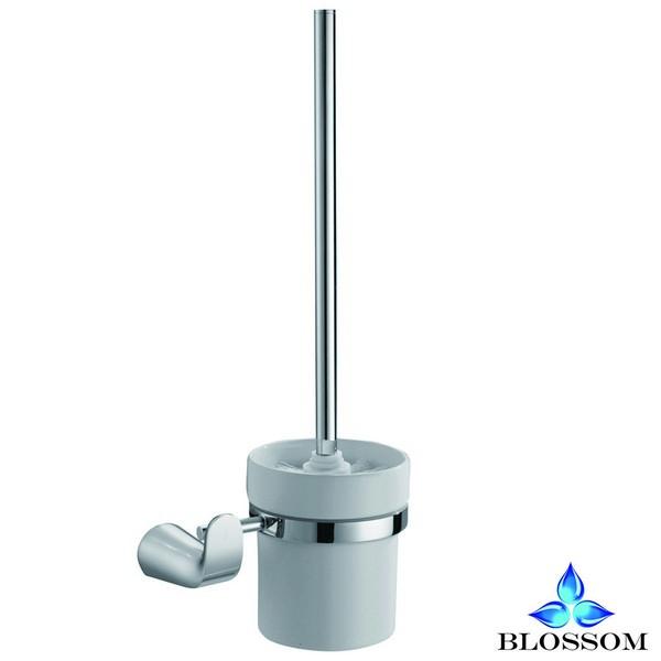 Blossom BA02 108 01 Wall Mounted Toilet Brush Holder  in Chrome